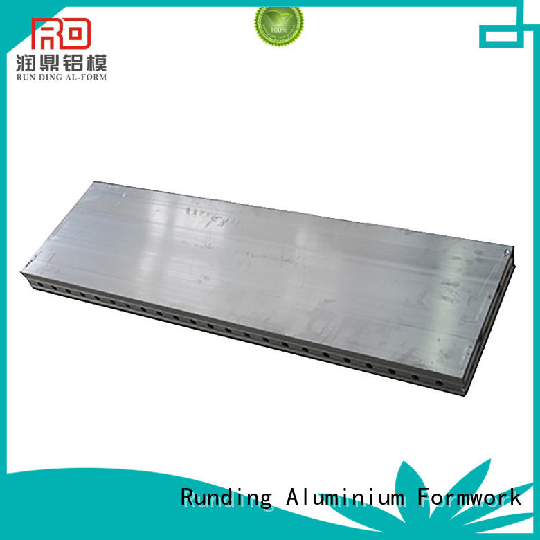 Runding Aluminium Formwork footing Formwork System from manufacturer for site
