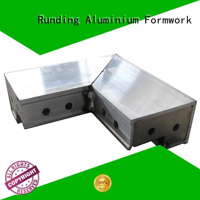 Runding Aluminium Formwork footing Aluminum formwork free design for window