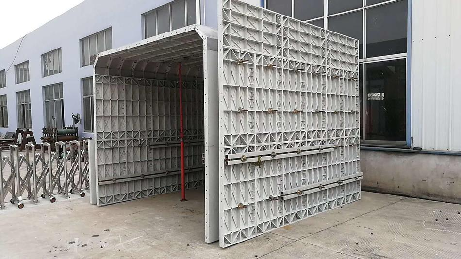 Aluminum & Plastic Formwork Construction Combination