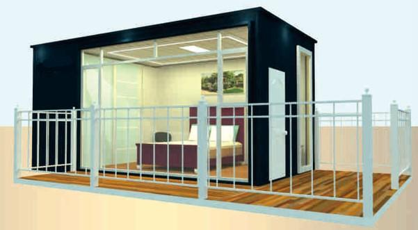 Prefab Steel Buildings Container Hotel Series