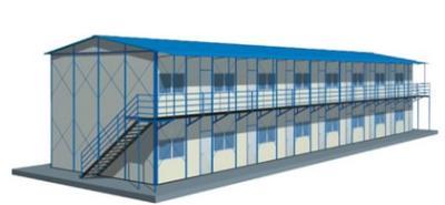 Modular K House Sandwich Panel House