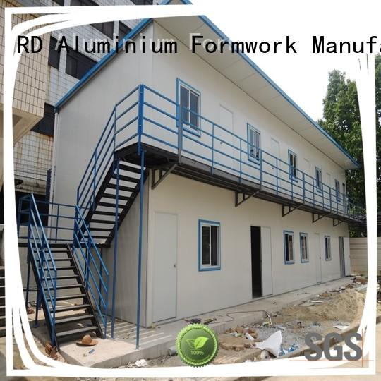 RD Aluminium Formwork hot-selling Prefab House certifications for living room