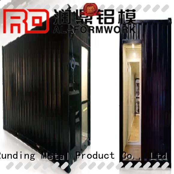 Runding Aluminium Formwork toilet Prefab House long-term-use for movable toilet
