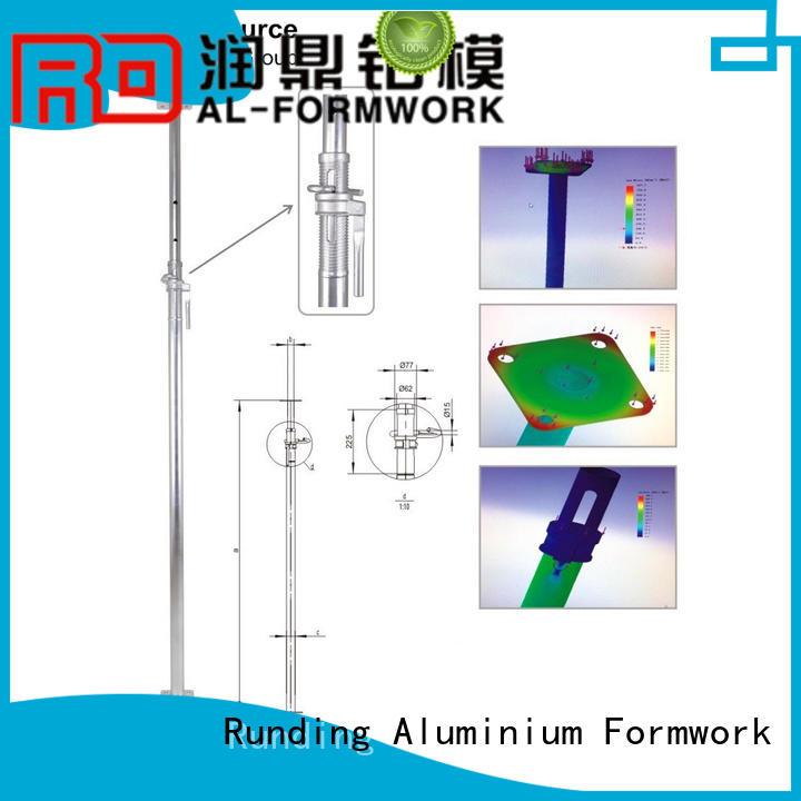 Runding Aluminium Formwork steel Prop customized for office