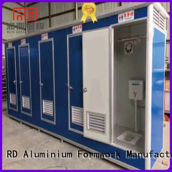 Runding Aluminium Formwork hot-selling Prefab House supply for movable toilet