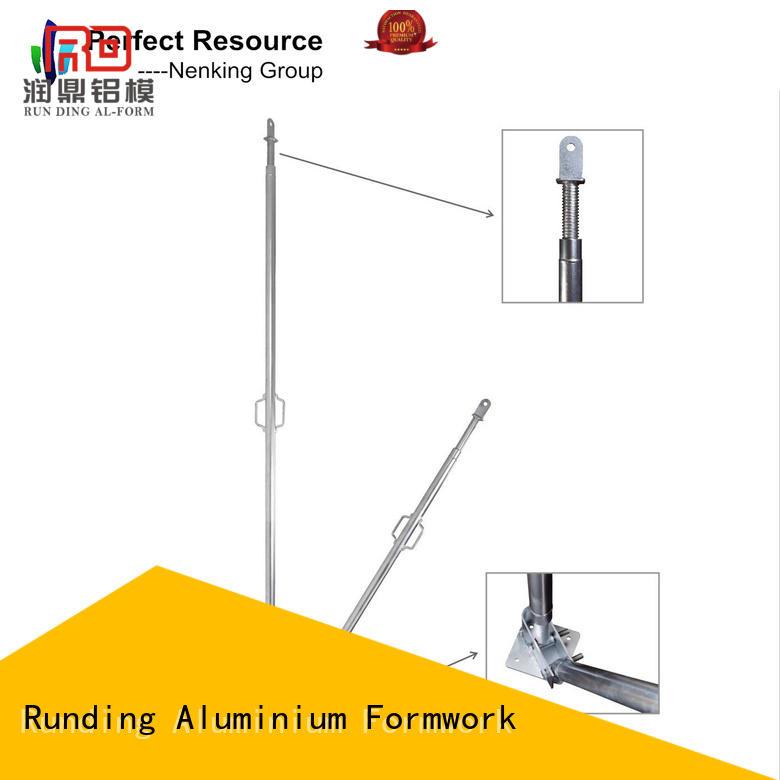 Runding Aluminium Formwork stable Prop customized for store room