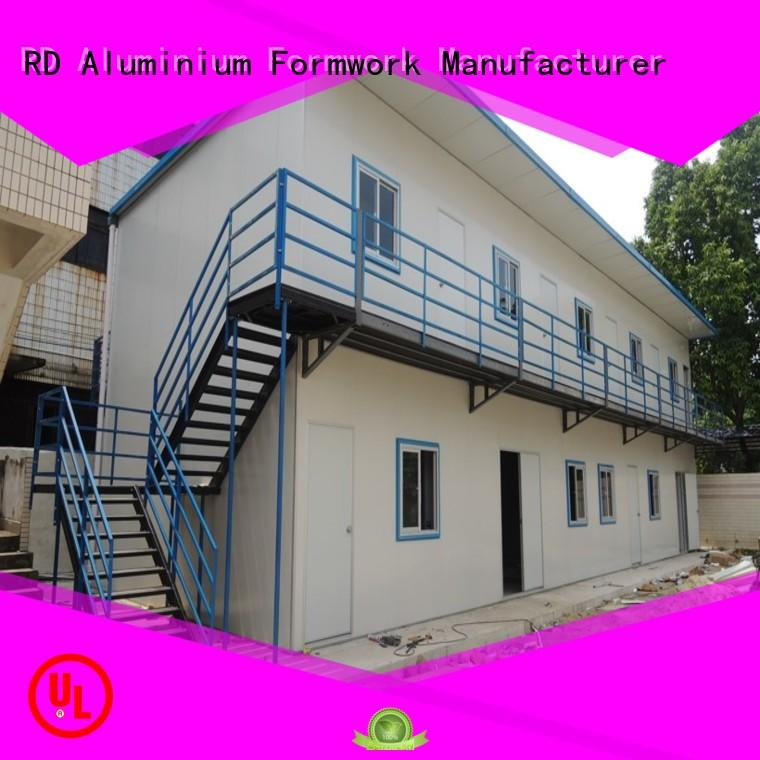 Runding Aluminium Formwork industry-leading Prefab House certifications for bathroom