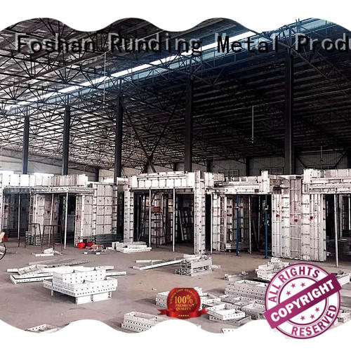 durable Aluminum formwork long-term-use for door structures