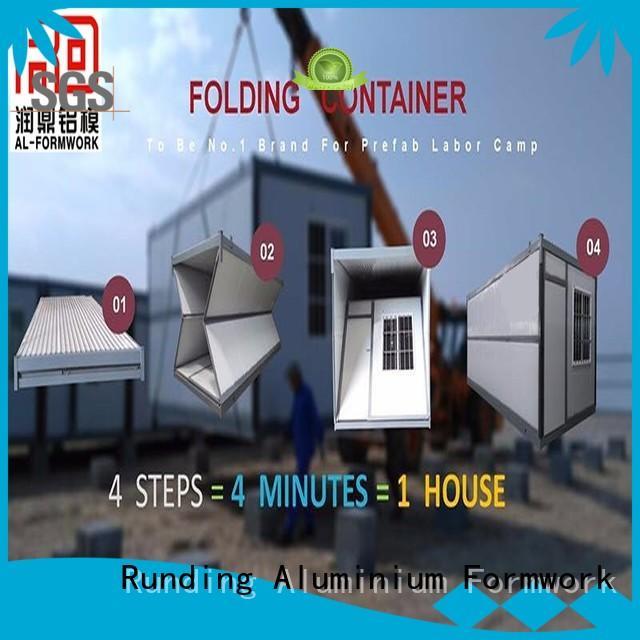 Runding Aluminium Formwork office Container Home factory price for bathroom