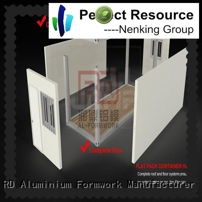 Runding Aluminium Formwork low cost Container Home supply for bathroom
