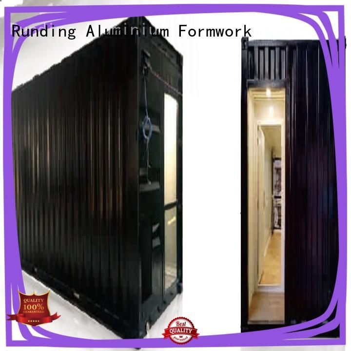 Runding Aluminium Formwork office Container Home factory price for veranda