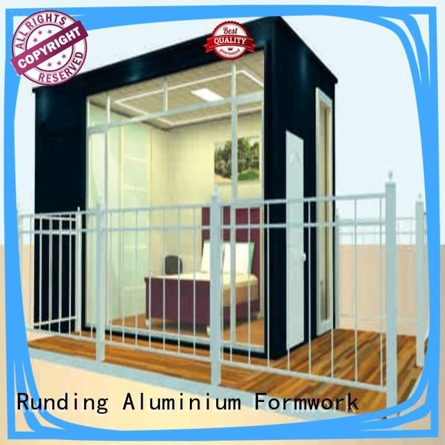 Runding Aluminium Formwork stunning Prefab House factory price for veranda