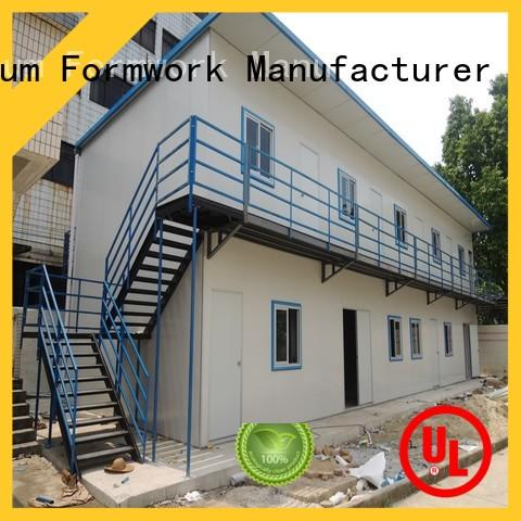 Runding Aluminium Formwork office Prefab House China supplier for movable toilet