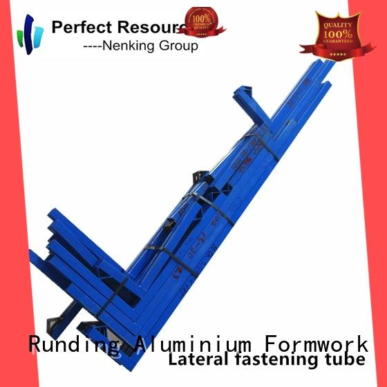Runding Aluminium Formwork inexpensive Lateral fastening tube personalized for store room