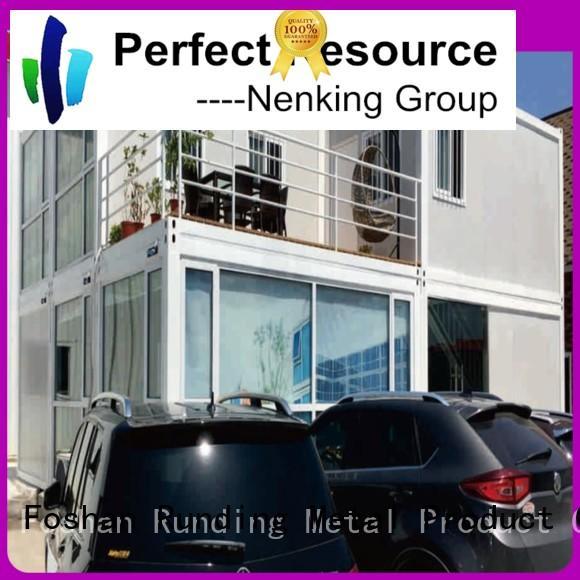 Runding Aluminium Formwork folding Container Home certifications for veranda