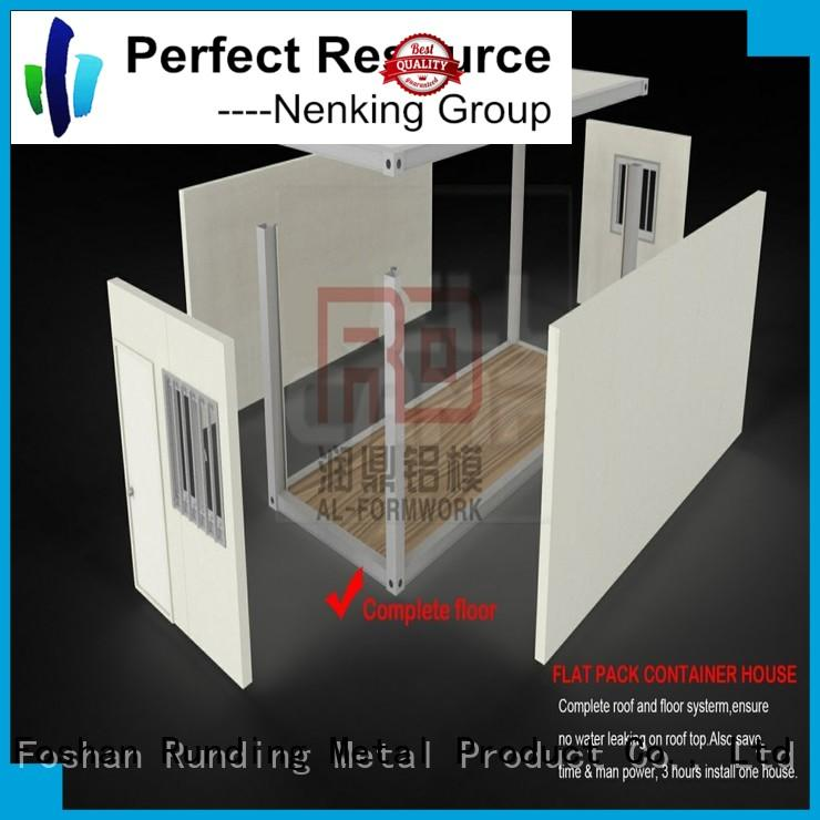 Runding Aluminium Formwork magnificent Container Home certifications for bathroom