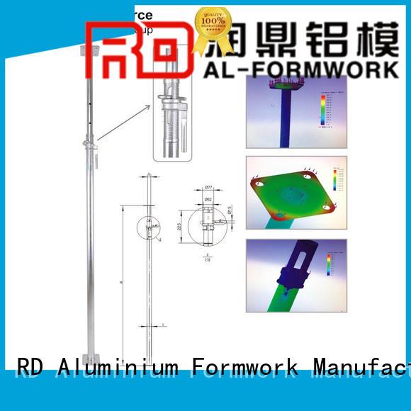 RD Aluminium Formwork scissors Prop customized for store room